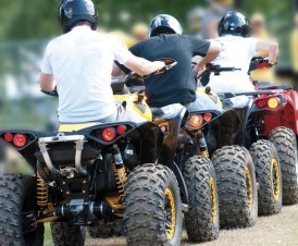 Rallye team building en quad